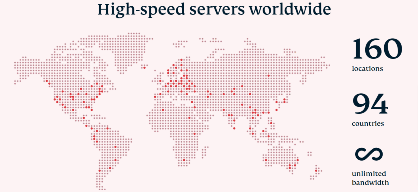 high speed servers worldwide