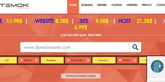 homepage temok