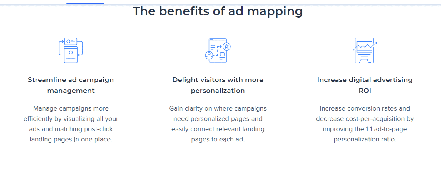 Benefits of Admapping - Instapage Review