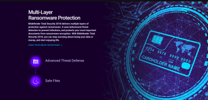 Bitdefender Total Security 2018 Anti Malware Software