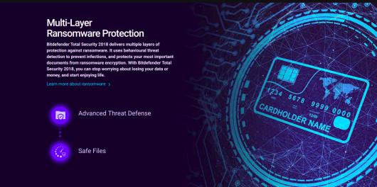 Bitdefender Total Security 2018 Anti Malware Software