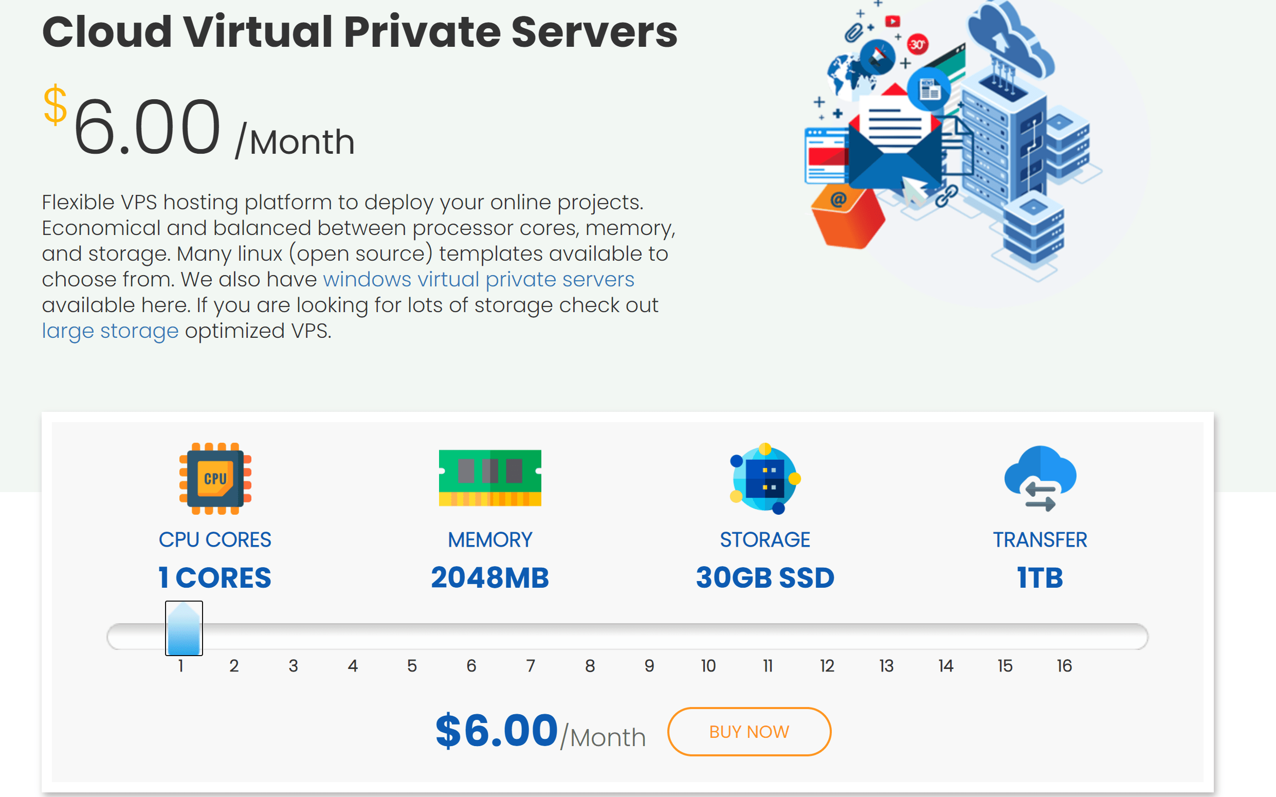 Cloud Server by Interserver