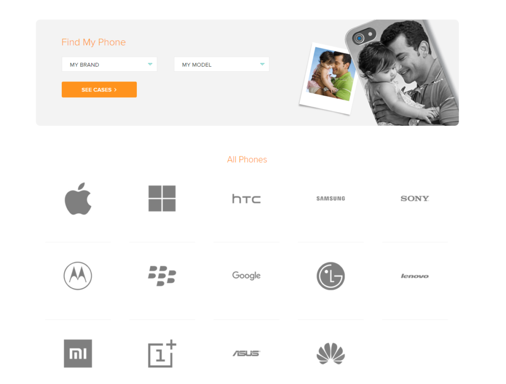 DailyObjects Choose Mobile Tablet For Customization Online in India