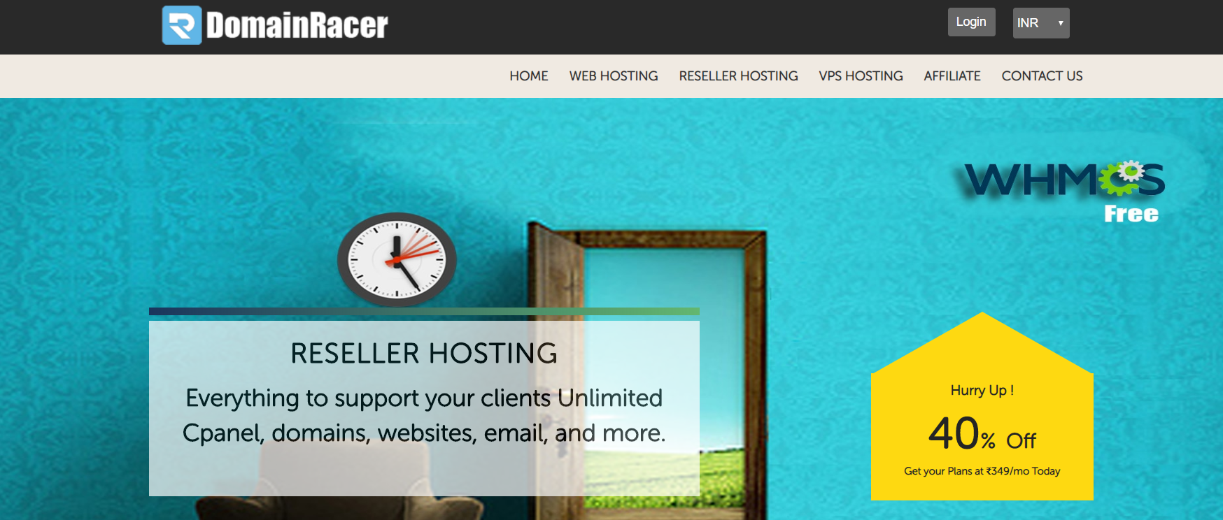DomainRacer- Top Best Reseller Hosting