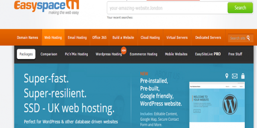 Easyspace Hosting coupon codes promo codes  discount codes