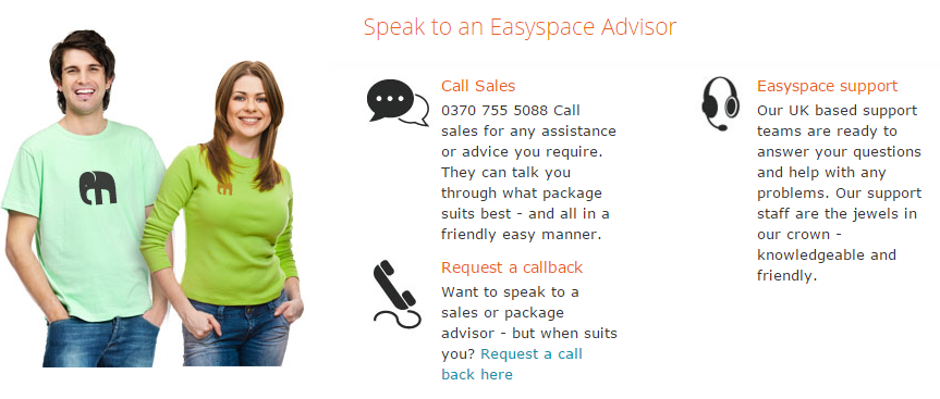 Easyspace Hosting support - EasySpace Hosting Coupon Code