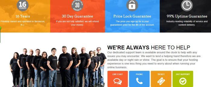 Interserver customer support