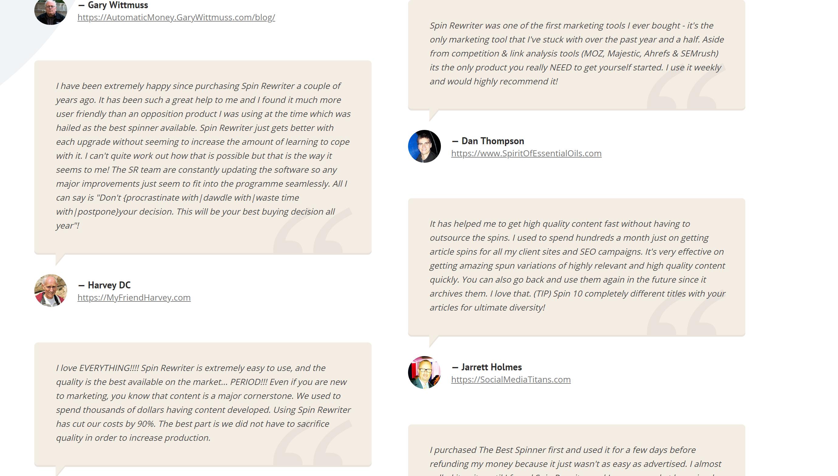 Spin rewriter reviews online