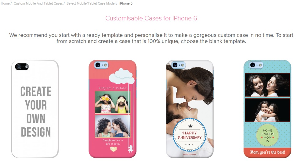 dailyobjects customisable cases