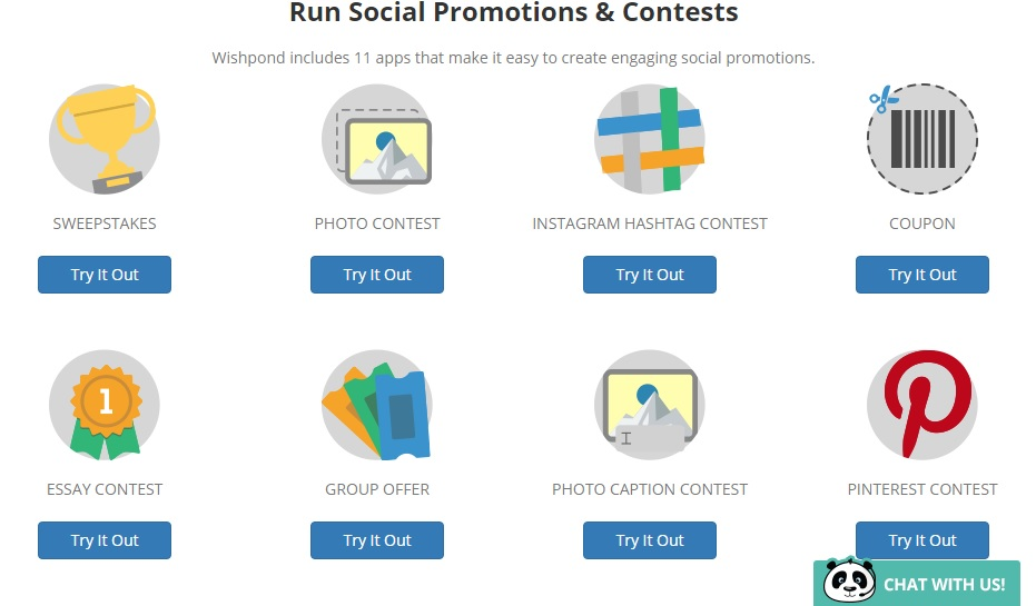 wishpond promotions & contests