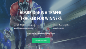 AdsBridge Best    Affiliate software  web tracker and landing page builder review