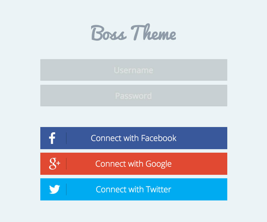 Boss 2.0 – An Impeccable Facebook-style WordPress theme (4)