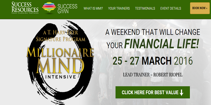 Chennai Millionaire Dollar Mastermind Successgyan and successresources