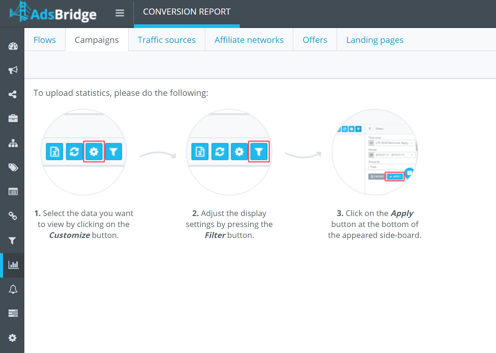 Conversion tracking adsbridge review