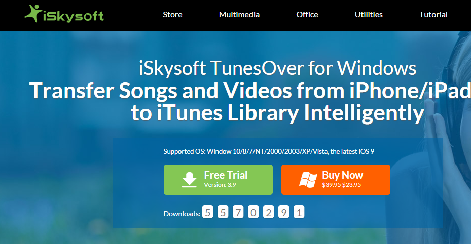iSkysoft TunesOver for Windows   Transfer Music from iPhone iPad iPod to iTunes