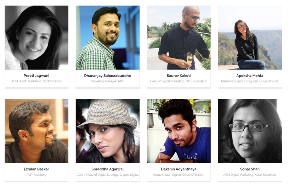 24ADP Digital Marketing Conference Pune 2016 Speakers