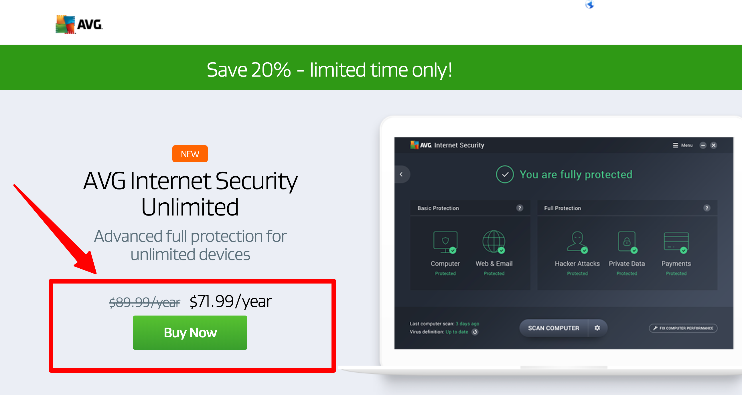 AVG Antivirus Coupon- Internet Security and Ultimate