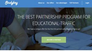 Studybay Affiliate program Best Partnership Program For Educational Traffic