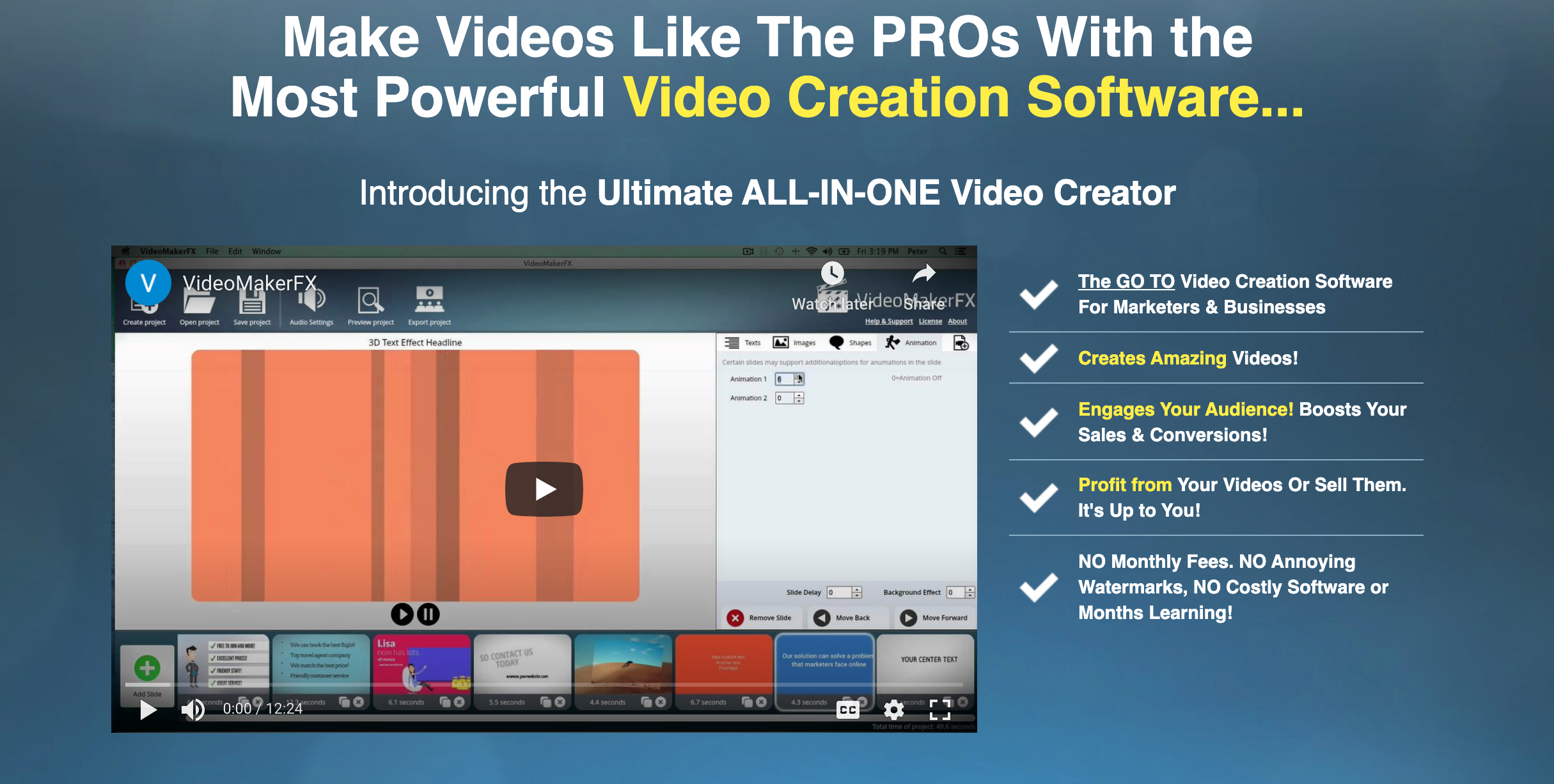 VideoMakerFX Review- Make Videos Like Pro
