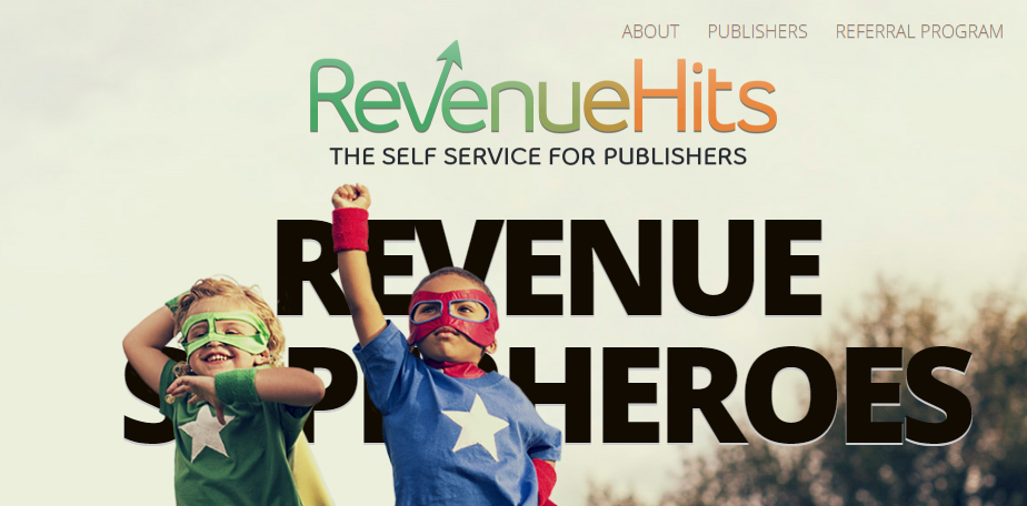 RevenueHits ad network - Make Money Online
