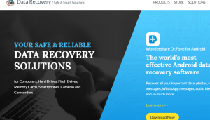 Wondershare  Data Recovery   For Your Windows  Mac  iOS  Android  Review