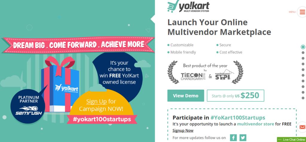 YoKart Multivendor Ecommerce Platform – Complete Marketplace Solution