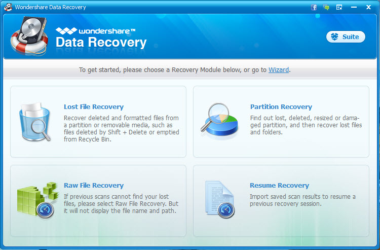 How to Recover Deleted data with WonderShare for Windows users