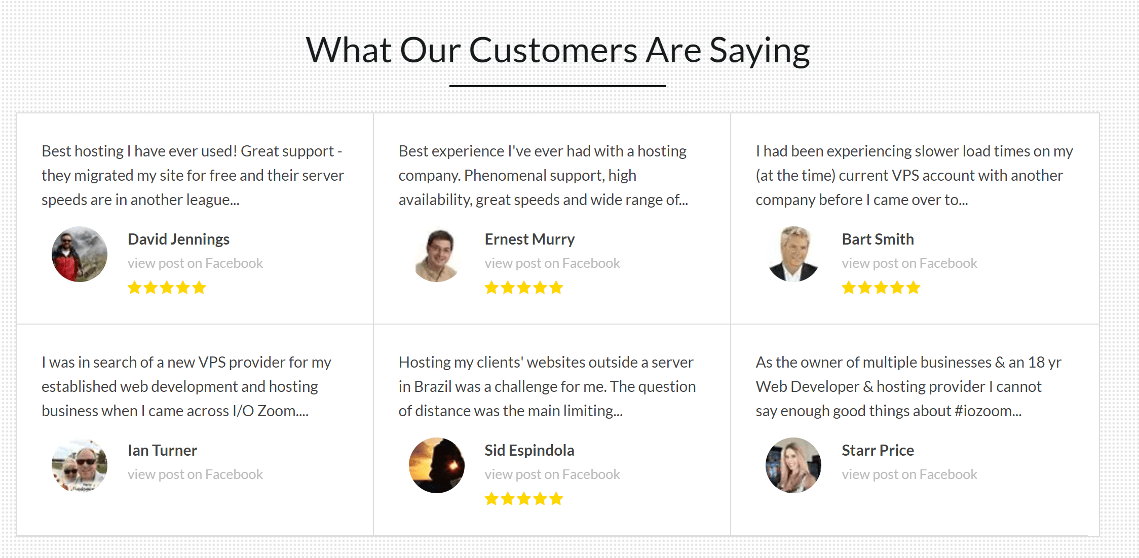 IO Zoom Hosting Reviews