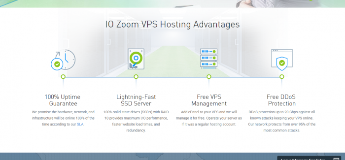 IO Zoom SSD VPS Hosting Best VPS Hosting Provider Features