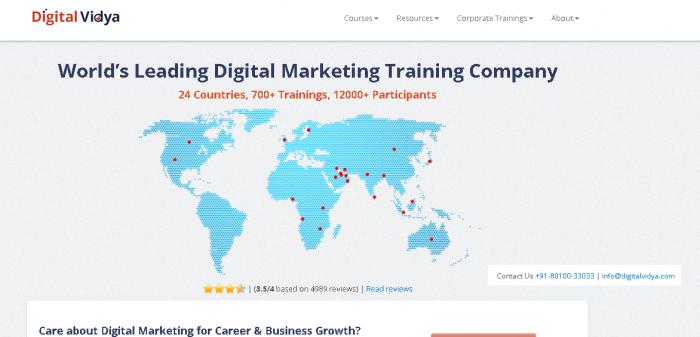 digital vidya - Digital Marketing Courses