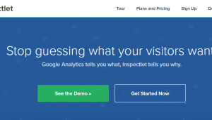 Inspectlet   Website Heatmaps  Session Recording  Form Analytics 1