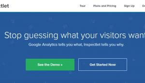 Inspectlet   Website Heatmaps  Session Recording  Form Analytics 1