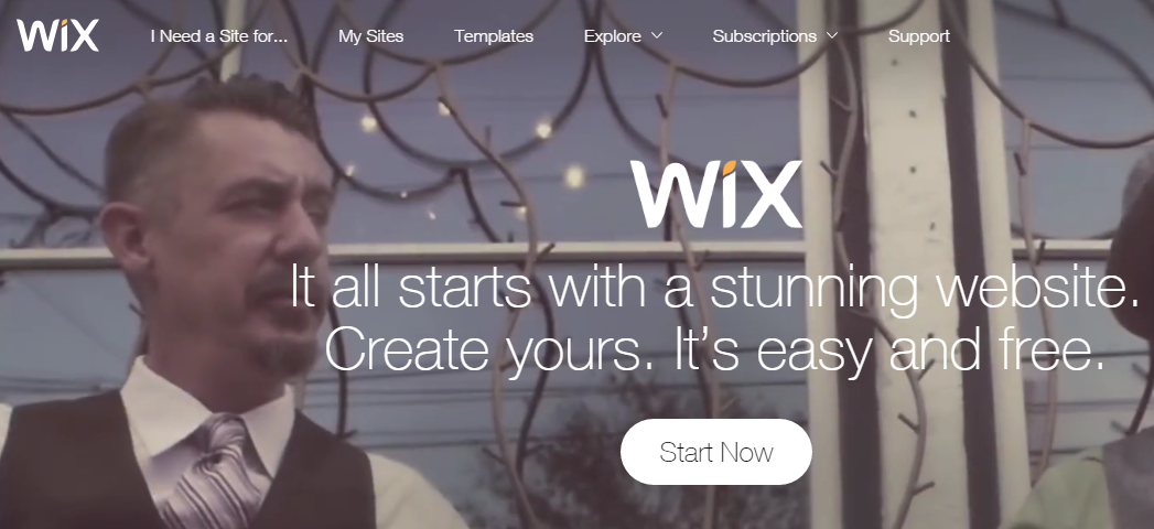 WIX Free Website Builder Create a Free Website