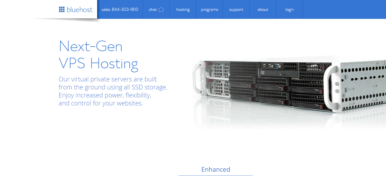 Bluehost managed hosting