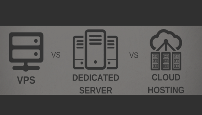 VPS Vs Dedicated Vs Cloud Hosting