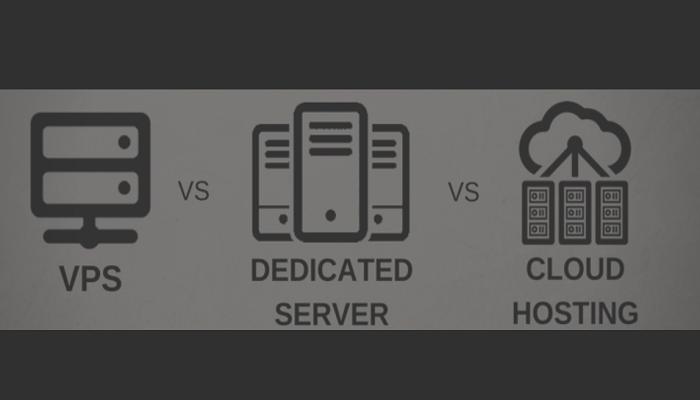 Dedicated server vs cloud vps