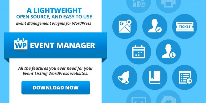 wp event manager plugin