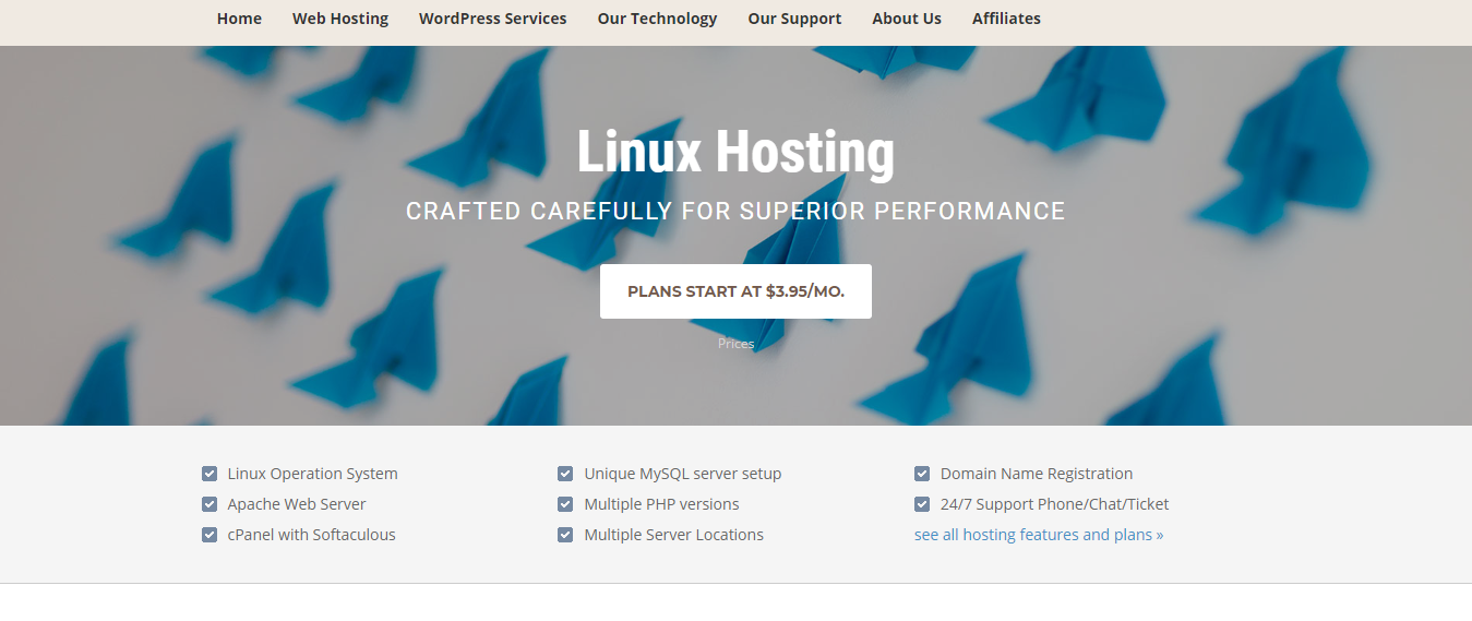 Siteground linux hosting