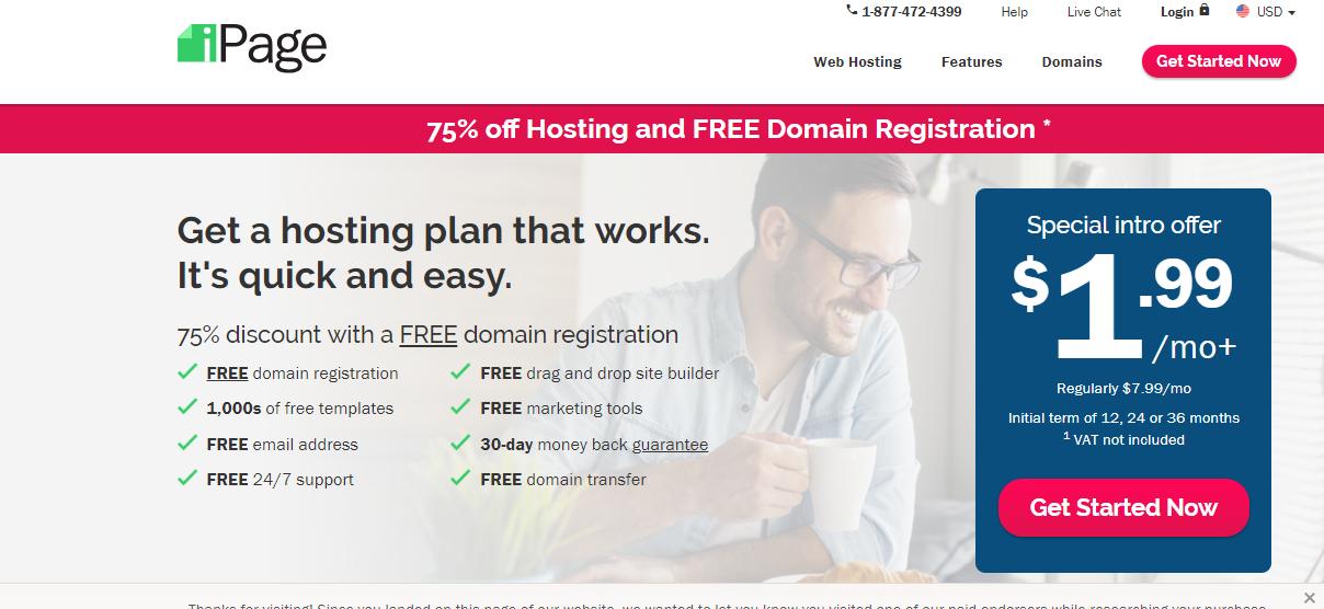 ipage linux hosting