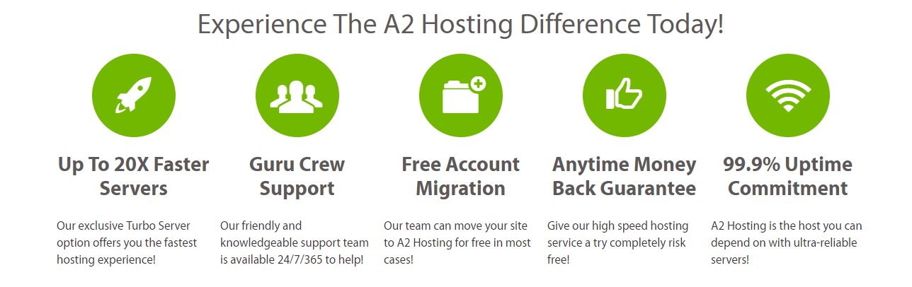 joomla hosting provider A2 features