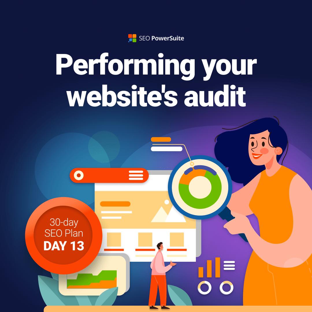 SEO powersuite website audit