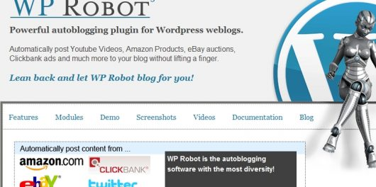 Wp robot review plugin