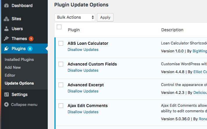 disable-updates-plugins