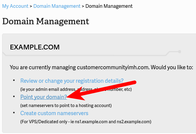 point-your-domain