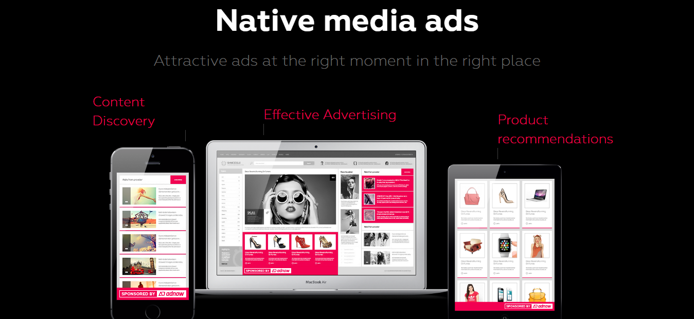 AdNow review native advertising network