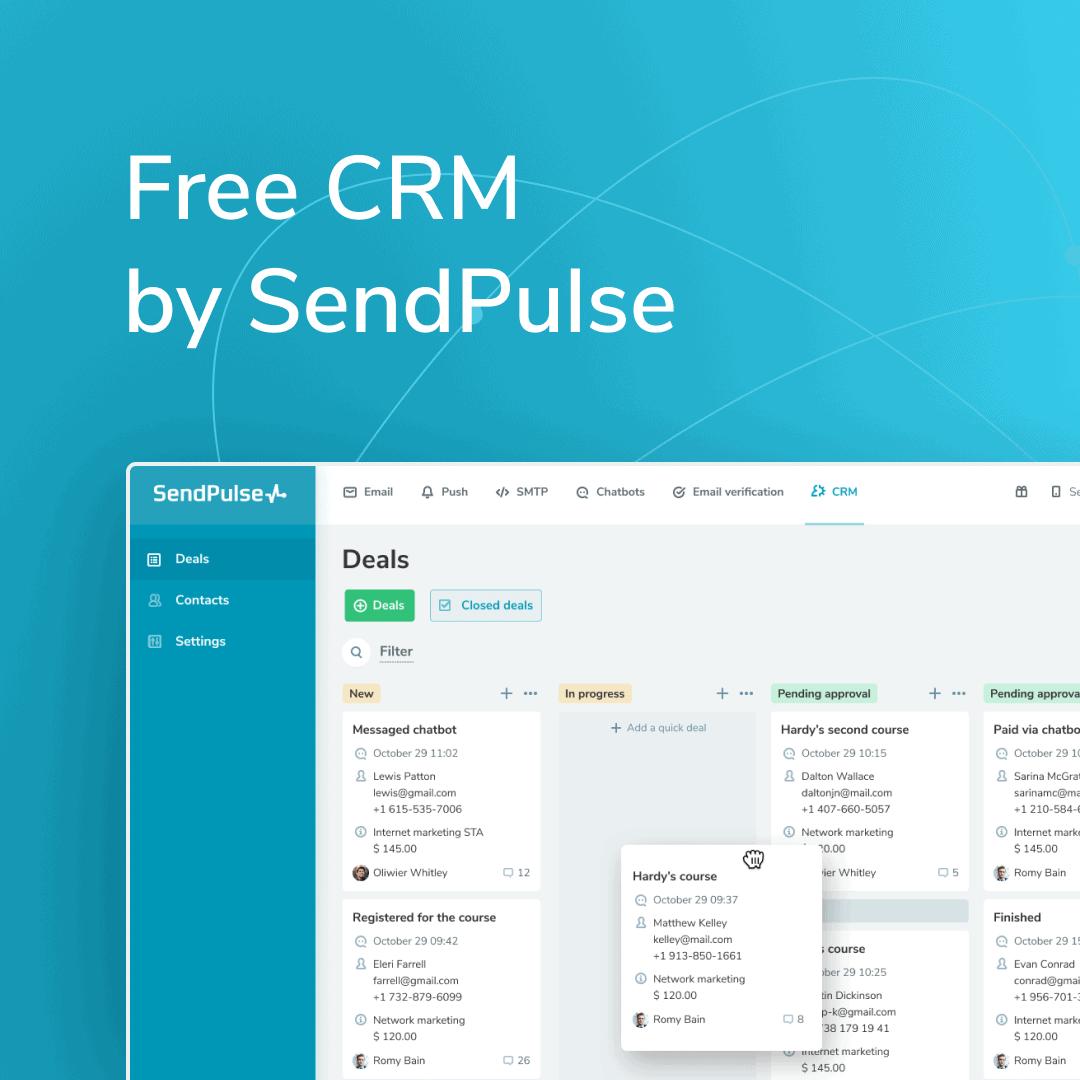 Sendpulse CRM Review
