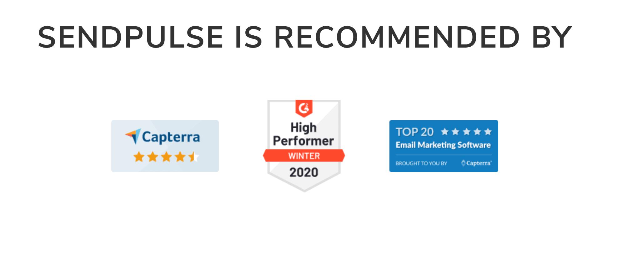 Sendpulse recommendations
