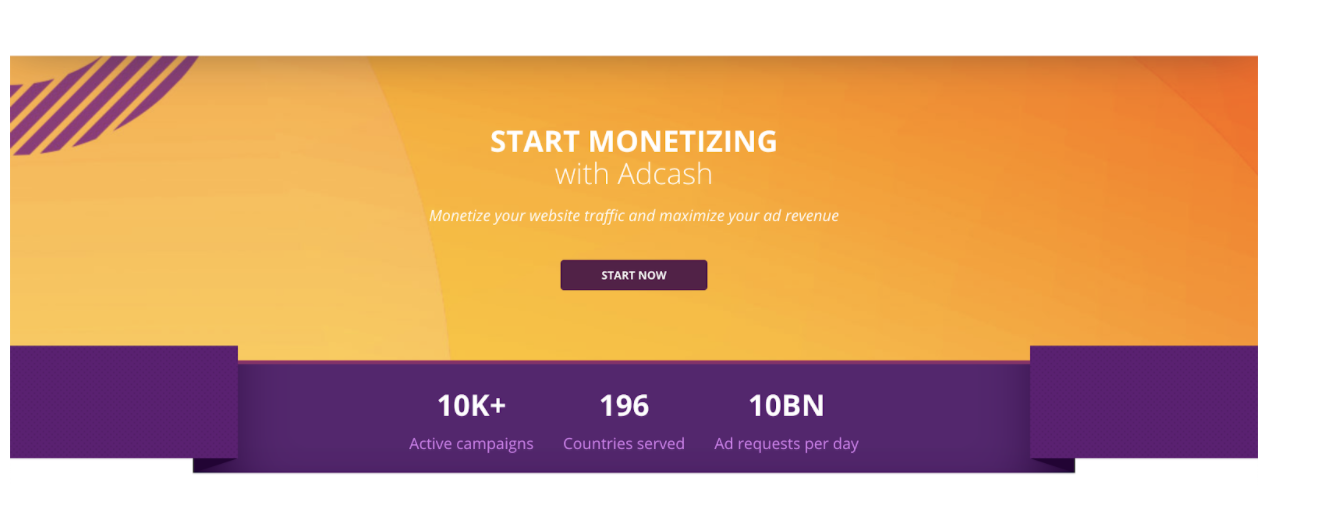Adcash Affiliate network