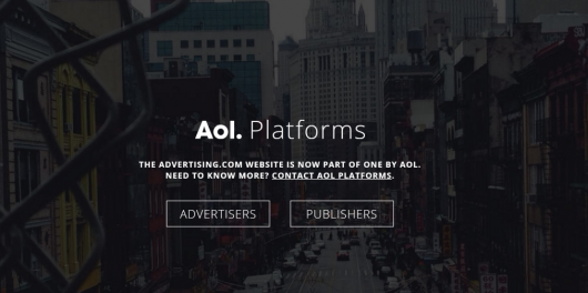 Advertiser AOL Platforms