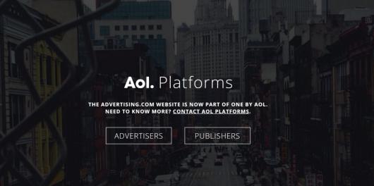 Advertiser AOL Platforms